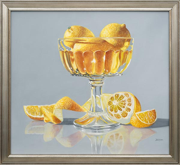 Lemons in Crystal Compote